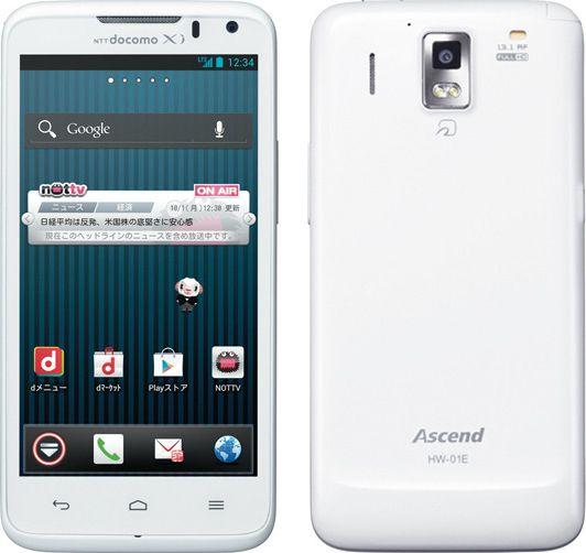 Ascend HW-01E docomo