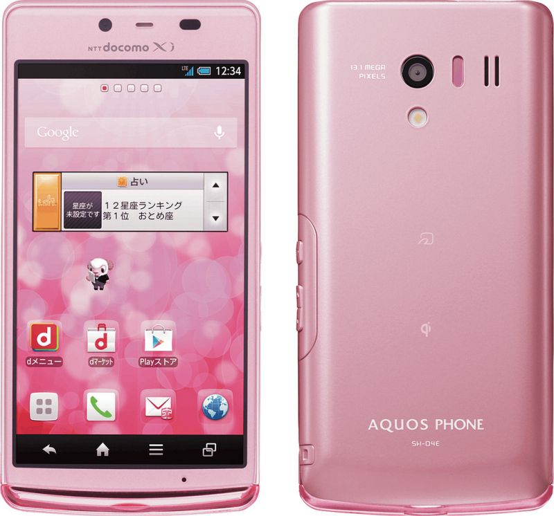 AQUOS PHONE EX SH-04E docomo