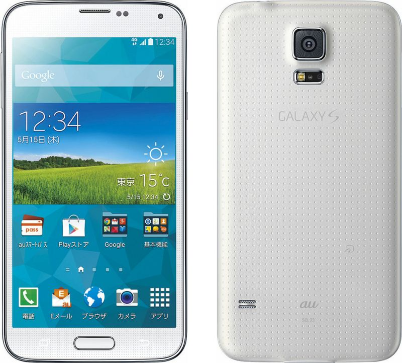 GALAXY S5 SCL23 au