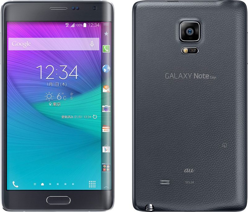 GALAXY Note Edge SCL24 au