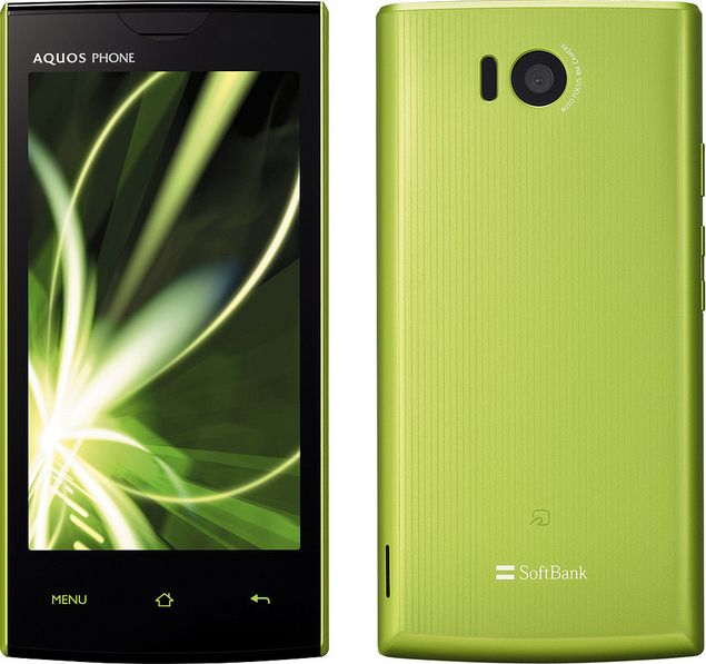AQUOS PHONE 103SH SoftBank