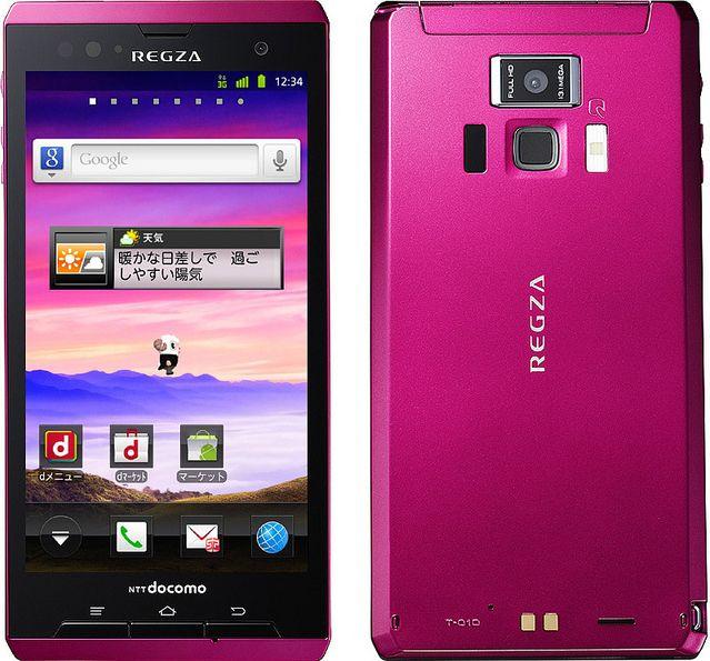 REGZA Phone T-01D docomo
