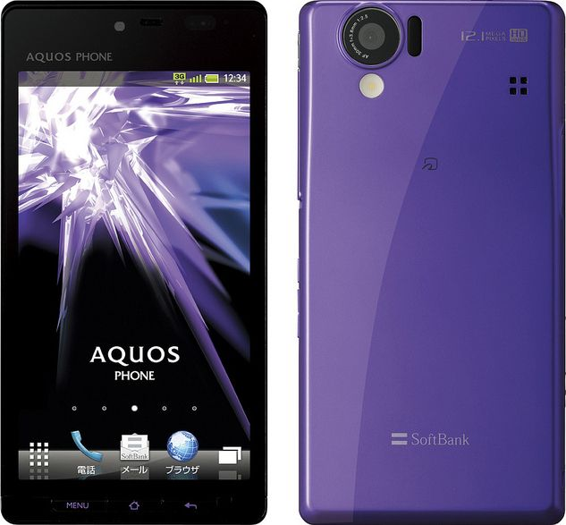 AQUOS PHONE 102SH SoftBank