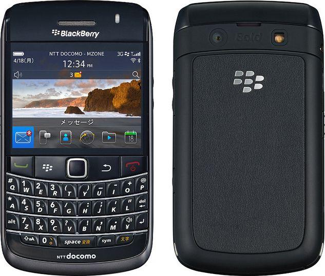 BlackBerry Bold 9780 docomo