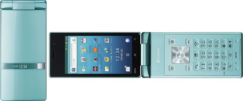 AQUOS PHONE THE HYBRID 007SH SoftBank