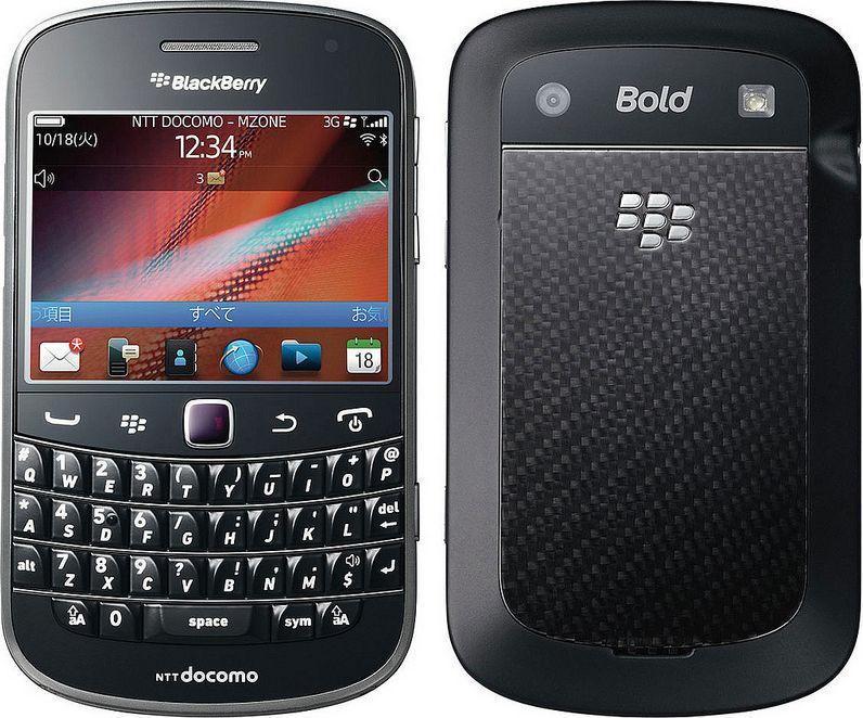 BlackBerry Bold 9900 docomo