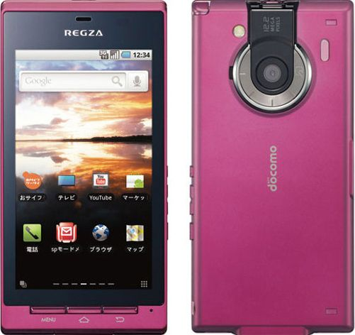 REGZA Phone T-01C docomo