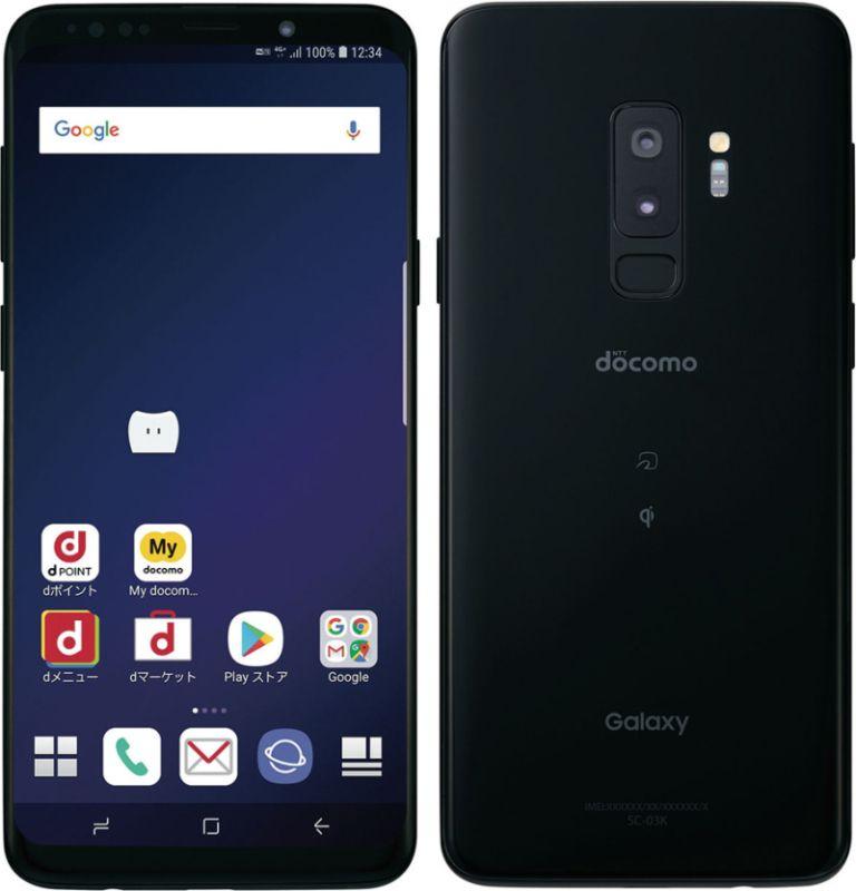 Galaxy S9+ SC-03K docomo